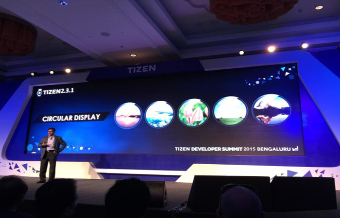 ↑타이젠 개발자회의 모습 (사진:샘모바일)
