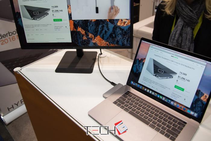 [CES2017 다시보기] 맥북프로 단자 고민 줄인 하이퍼드라이브 썬더볼트 3 허브