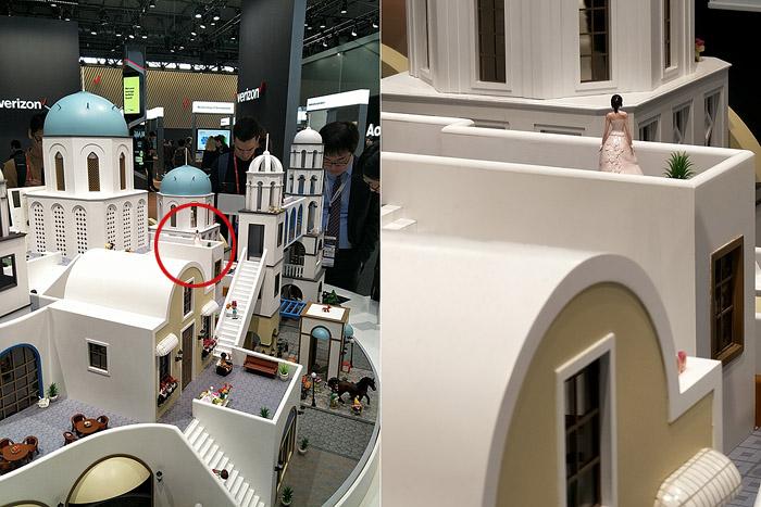 왼쪽은 광각으로 찍은 사진이고 오른쪽은 5배 줌으로 찍은 사진이다. 마치 크롭한 것처럼 보이지만, 해상도는 똑같다.