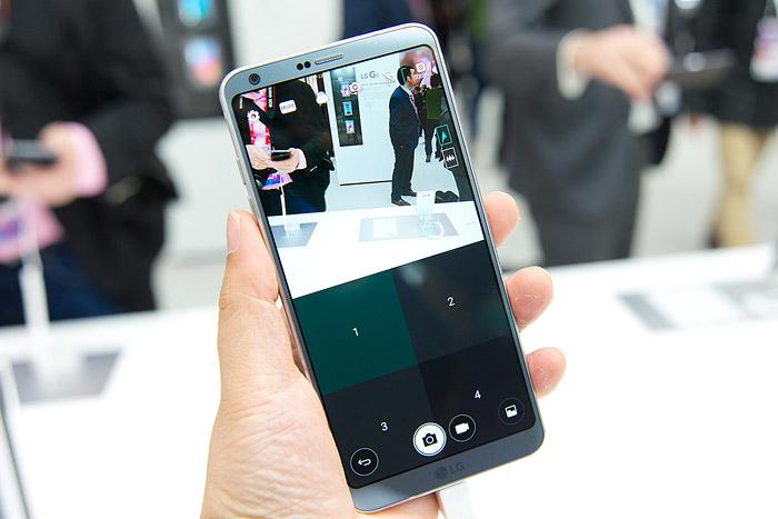 LG 스퀘어 카메라는 정사각형 이미지를 촬영하는 다양한 모드를 지니고 있다