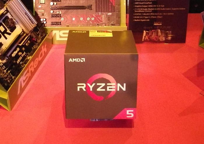 자신감 넘치는 AMD의 승부수, 라이젠 5 공식 출시