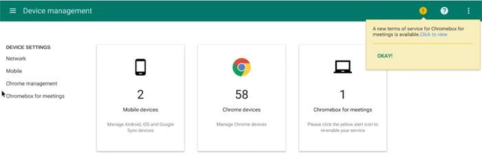 디바이스 관리 화면에서 몇 개의 장치를 관리할 수 있는지 쉽게 확인할 수 있다.
