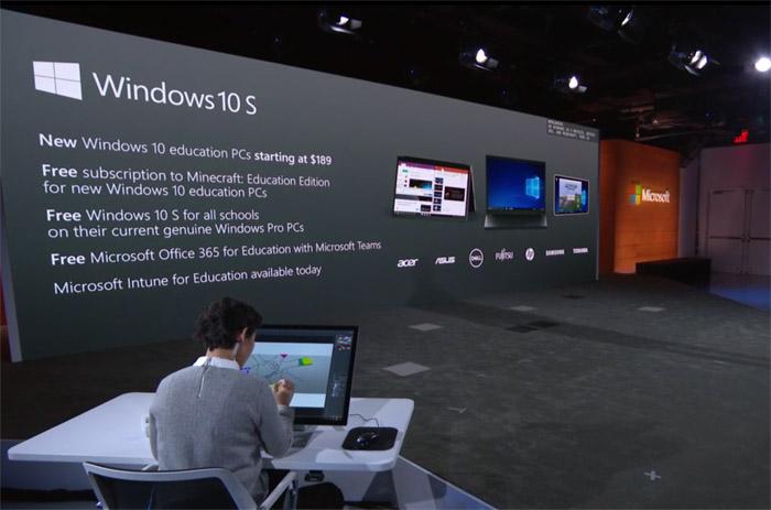윈도 10 S PC를 구매하면 오피스 365와 마인크래프트가 번들로 따라오지만 그게 핵심은 아니다.