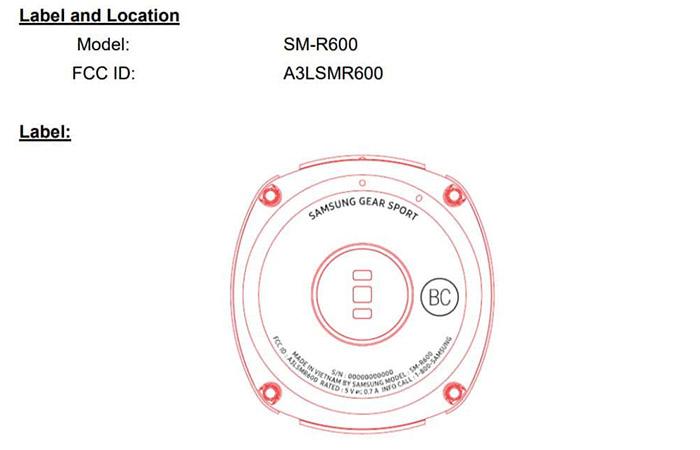 Samsung-Gear-Sport-FCC-700