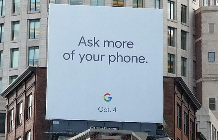 구글 픽셀2, 10월 4일 발표할까?