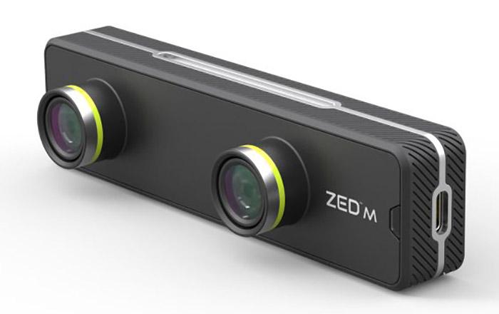PC VR용 AR 카메라 '제드 미니'(ZED Mini) 등장