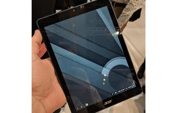 크롬 OS 기반 태블릿 출현