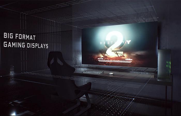 65인치 TV용 빅 포맷 게임 디스플레이 발표한 엔비디아