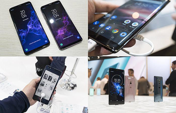 MWC 2018의 스마트폰 동향 돌아보기