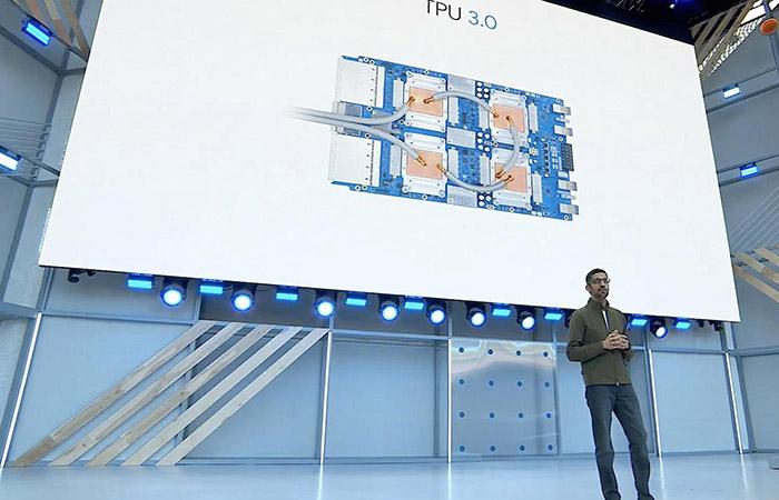 3세대 추론 가속 프로세서 TPU V3.0 공개한 구글