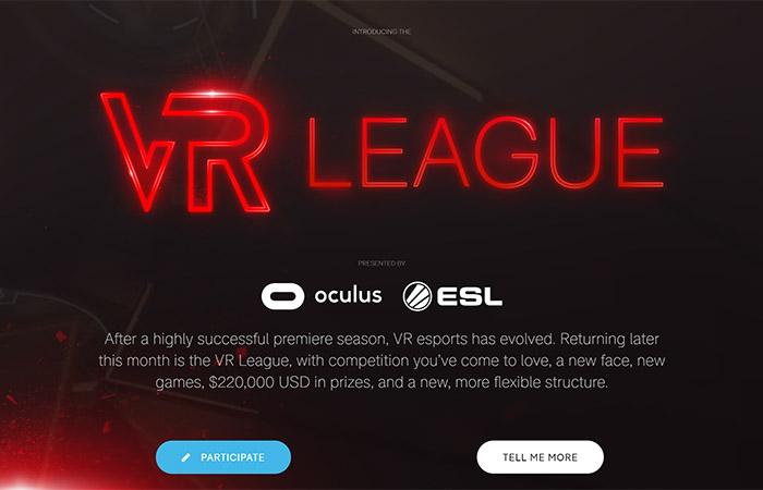 VR e스포츠 리그 재개하는 ESL과 오큘러스