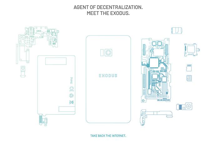 블록체인 스마트폰 '엑소더스' 발표한 HTC