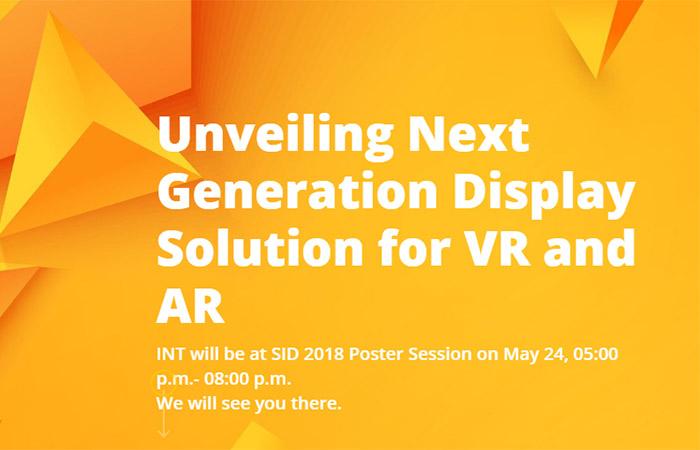 2,228 ppi의 고밀도 VR AMOLED 개발 중인 INT