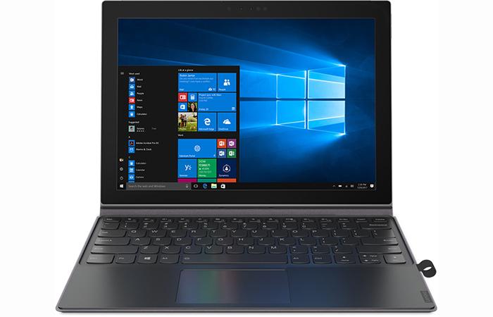 스냅드래곤 835 탑재 투인원 윈도 태블릿 출시한 레노버