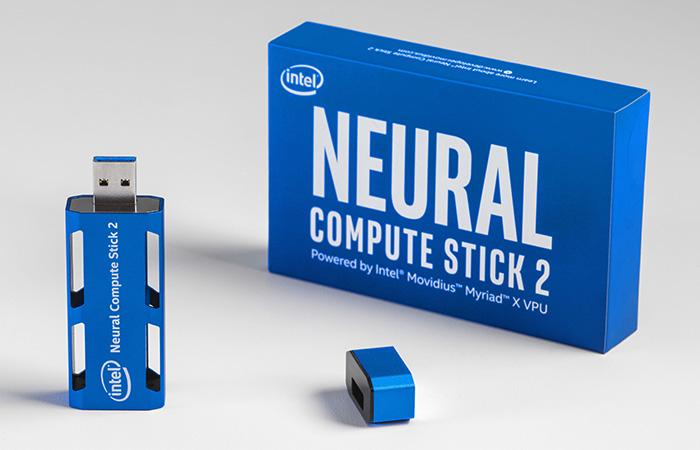 AI 엣지 디바이스 개발 위한 인텔 뉴럴 컴퓨트 스틱2 발표