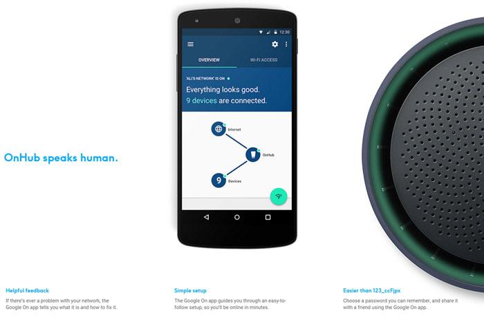 ↑구글 온허브 앱(사진 출처 : 온허브 웹사이트)
