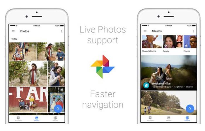 ↑iOS 구글 포토, 라이브 포토 지원 (사진|트위터 구글 포토 공식계정)